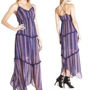 BCBG ✨ Gypsy Tiered-Ruffle Maxi Dress